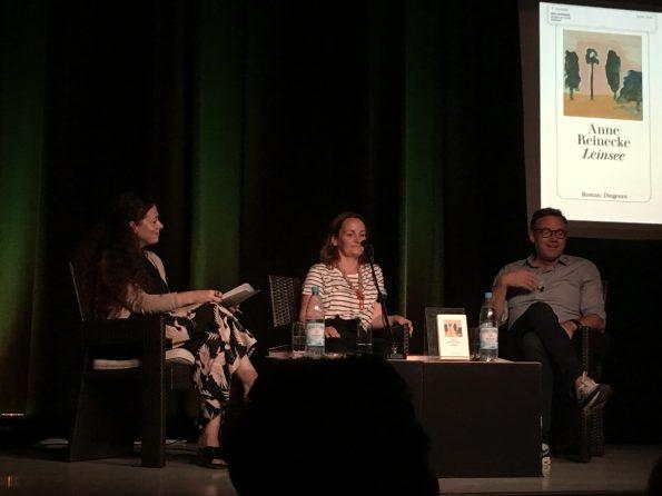 Shelly Kupferberg im Gespräch mit Anne Reinecke und Philipp Keel